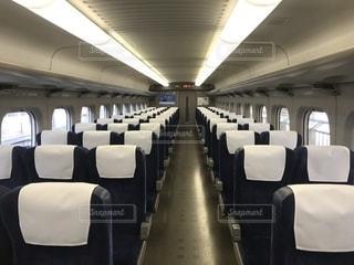 東海道新幹線のぞみの車内の写真・画像素材[1872246]