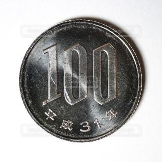 平成31年の100円玉の写真・画像素材[2018169]