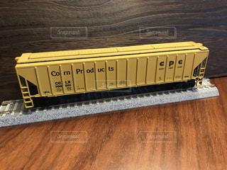 海外の貨車の鉄道模型HOゲージの写真・画像素材[2313635]