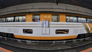 近鉄特急の名車二階建てビスタカー奈良行き電車の写真・画像素材[2494505]