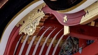 石清水八幡宮の本殿のクローズアップの写真・画像素材[2693165]