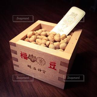 節分の豆まきに使う明治神宮の福豆の写真・画像素材[2817191]