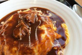 明治神宮そばにあるレストランの美味しいオムライスの写真・画像素材[2861544]