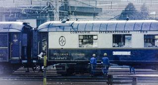 かつて日本を一周して話題をさらったオリエント急行の客車の写真・画像素材[2954299]