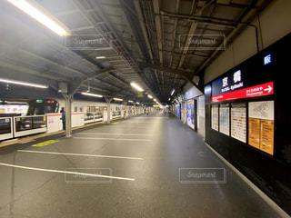 大阪環状線 京橋駅のホームの写真・画像素材[3137843]