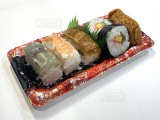 コンビニのお寿司弁当の写真・画像素材[4625686]