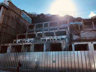熱海のホテル廃墟の写真・画像素材[1019382]