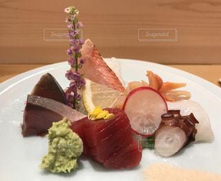 美味しいお寿司屋さんでの写真・画像素材[1019469]