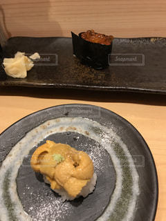 美味しいお寿司屋さんでの写真・画像素材[1019521]