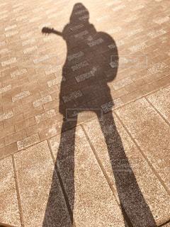 公園練習の時に撮影したシルエットの写真・画像素材[1036148]