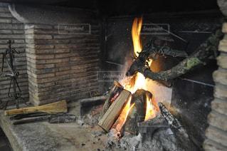 暖炉の写真・画像素材[1804248]
