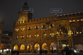 ボローニャの夜の写真・画像素材[1804249]