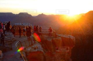 グランドキャニオンの朝陽の写真・画像素材[1231799]