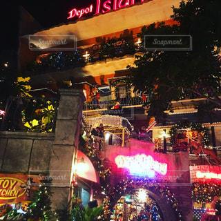 沖縄美浜の夜の写真・画像素材[754048]