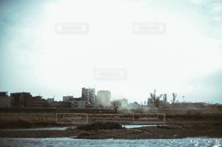 水域に架かる橋の写真・画像素材[2430319]