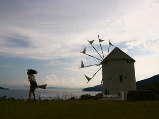 風車の写真・画像素材[327293]