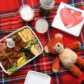 秋のピクニックに連れてって!の写真・画像素材[748623]
