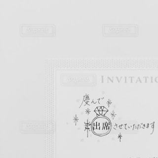 招待状アートの写真・画像素材[955056]