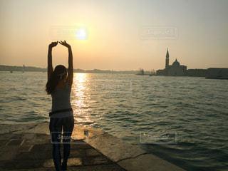 ヴェネチア朝ランの写真・画像素材[1181902]