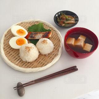 朝食の写真・画像素材[1581218]