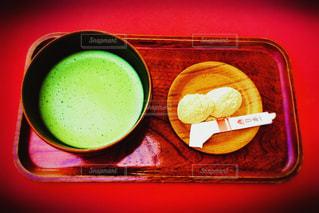 お抹茶ときびだんごの写真・画像素材[1157114]