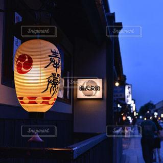 祇園の夜の写真・画像素材[9327]
