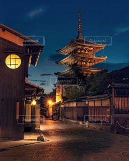 八坂の塔の写真・画像素材[2490199]