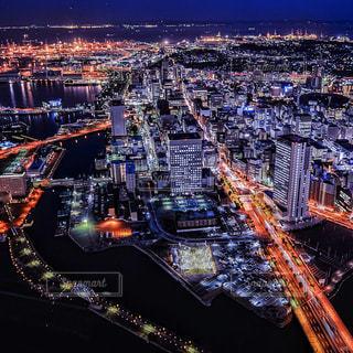 横浜の夜景の写真・画像素材[2976079]