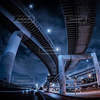 夜のジャンクションの写真・画像素材[3086294]