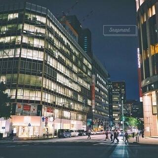 東京夜景ストリートの写真・画像素材[3980486]