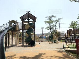 岐阜公園の遊具の写真・画像素材[1185764]
