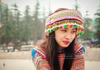 帽子をかぶっている少女 - No.1184031