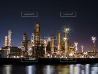 夜の都市の眺めの写真・画像素材[3453223]