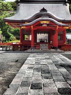 神社の写真・画像素材[312467]