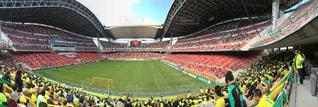 人でいっぱいスタジアムの写真・画像素材[1089953]
