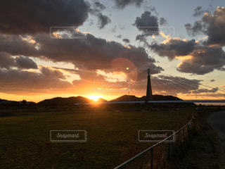 夕日の写真・画像素材[926066]