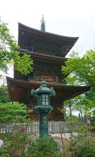 三重塔の写真・画像素材[1134984]