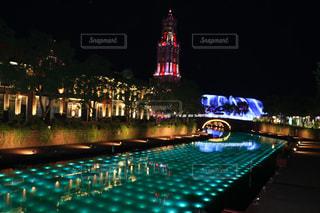 夜の街の景色 - No.750026
