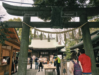 神社の写真・画像素材[295751]