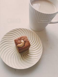 コーヒーとオージーケーキの写真・画像素材[1259828]