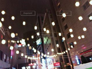 韓国の通りの写真・画像素材[1295386]