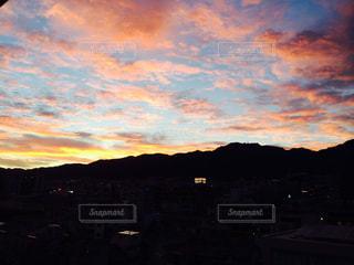 夕景の写真・画像素材[290983]