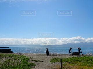 夏の浜辺の写真・画像素材[1348792]