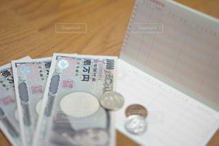 お金を数えるの写真・画像素材[1117956]