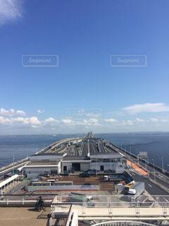東京湾アクアライン 海ほたるの写真・画像素材[1209972]