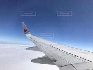 雪に覆われた飛行機の写真・画像素材[745015]