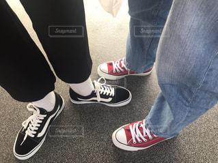 人の足に靴のグループの写真・画像素材[745028]