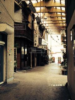 古い商店街の写真・画像素材[293726]