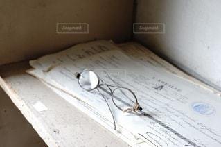 眼鏡の写真・画像素材[1543]