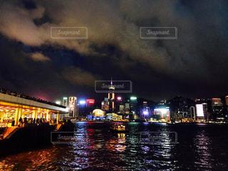 100万ドルの夜景の写真・画像素材[604965]